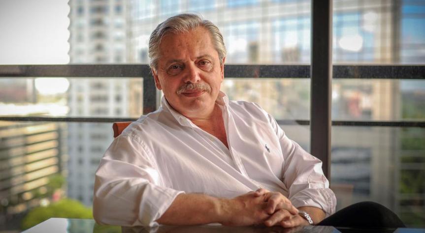 """Alberto Fernández: """"Voy a ir a cada provincia a resolver problemas… Soy el presidente de laArgentina"""""""