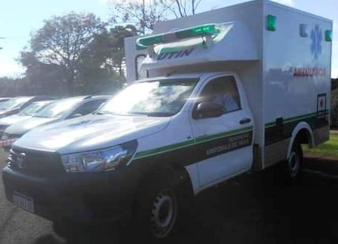 Embajada de Japón donó una ambulancia a la municipalidad deAristóbulo
