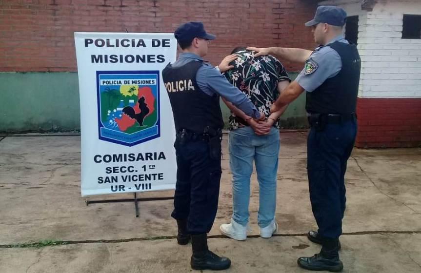 Capturan en Misiones a prófugo brasileño implicado en un doble homicidio en supaís