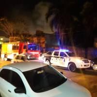 Investigan dos incendios, uno en calle San Martín y otro en un secadero