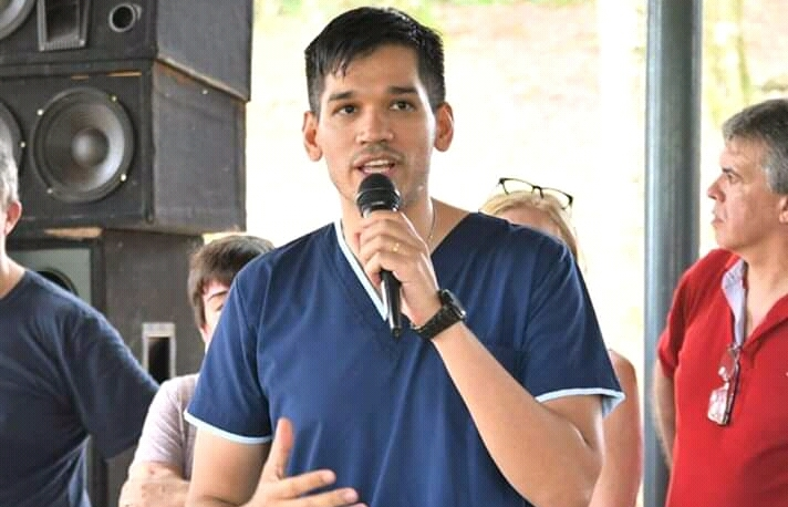Pigerl presentó al Dr. Mauro Laudelino como candidato a concejal acompañando aJudais