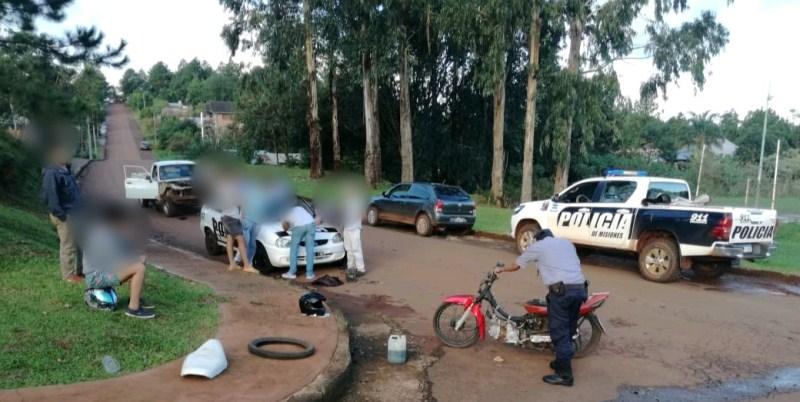 Dejó abandonada la moto tras persecución y huyó a pie, otra tenía denuncia de robo de 2016 y detuvieron a suconductor