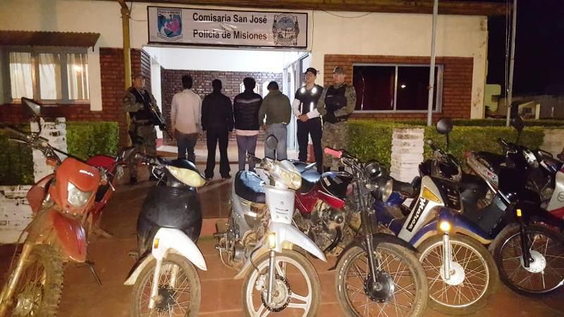 20 personas detenidas y 44 vehículos secuestrados en Operativo AltoImpacto