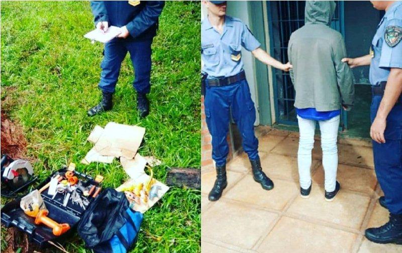 """""""Machete"""" y """"Ratón"""" detenidos por robar en una obra enconstrucción"""