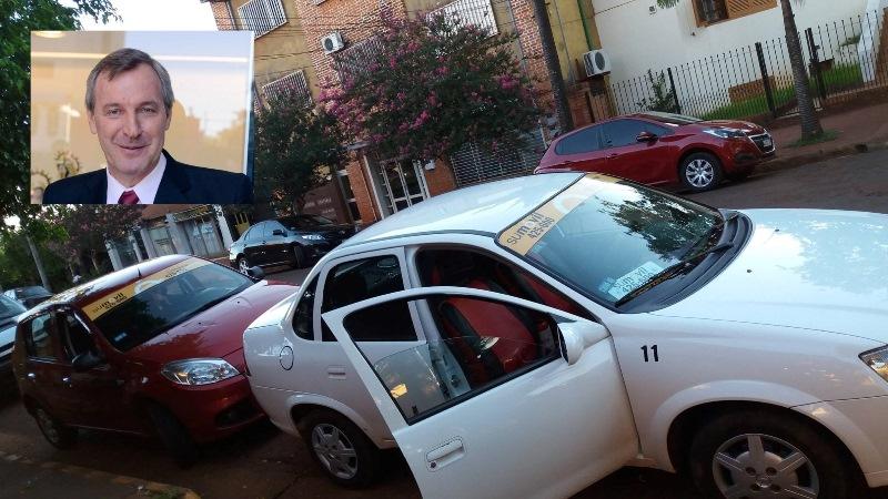 Rocholl propone terminar con el oligopolio de las remiseras y que las licencias pasen a los dueños de losmóviles