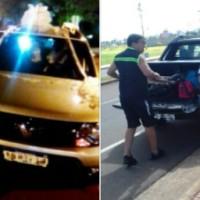 Dejó su camioneta estacionada con las llaves puestas y se la robaron