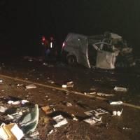 Choque en la ruta 103 dejó dos fallecidos