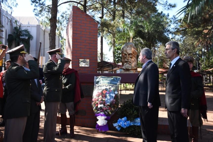 Se llevó a cabo el acto central por el 198 aniversario de la muerte del GeneralGüemes