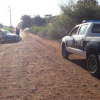 Motociclista gravemente herido tras chocar con un auto en avenida Berrondo