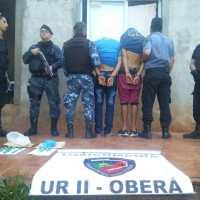 """Desbarataron """"bunker-Narco"""" y detuvieron a hermanos prófugos en Sapucay"""