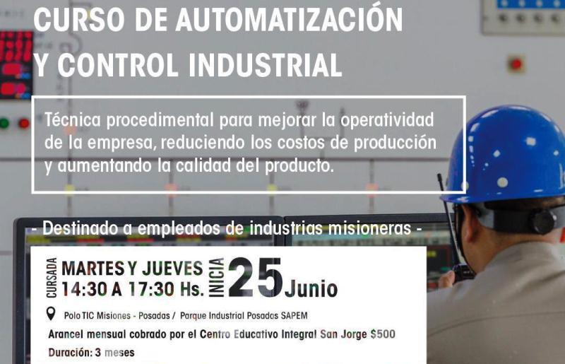 Brindan capacitación con salida laboral: Automatización y control industrial; y Reparación decelulares