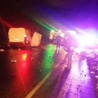 Una pasajera de 18 años falleció tras el choque en la ruta 103