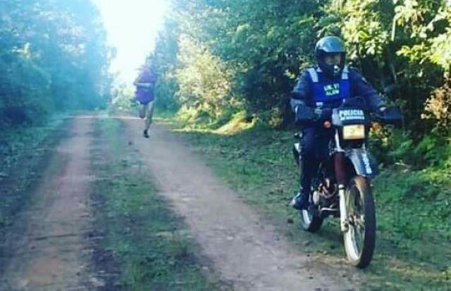 """Se realizó la maratón por los 125 años de Bonpland: """"Alfredito"""" ganó el primerlugar"""