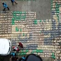 Droga secuestrada en Misiones y Corrientes: La banda operaba en la aduana falsificando documentos