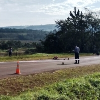 Conductor falleció tras impactar contra un camión en la ruta 103