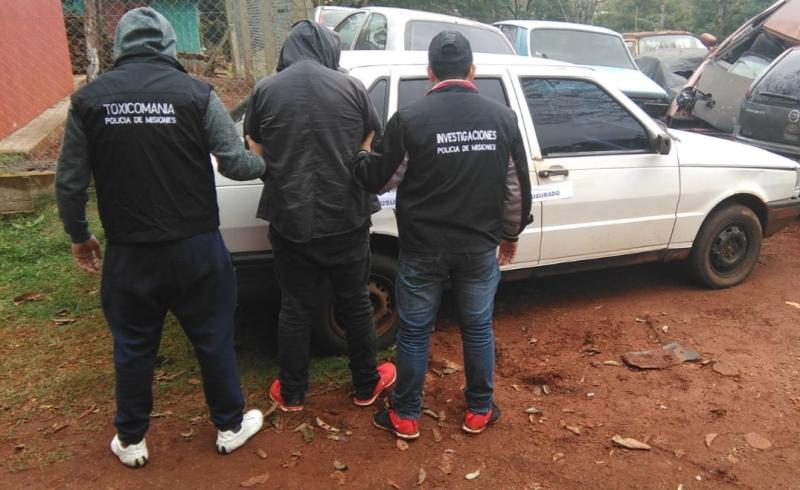 Sujeto con pedido de captura fue detenido con un autorobado