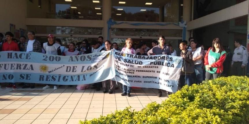 El ministerio de trabajo dictó la conciliación obligatoria en el conflicto deSalud