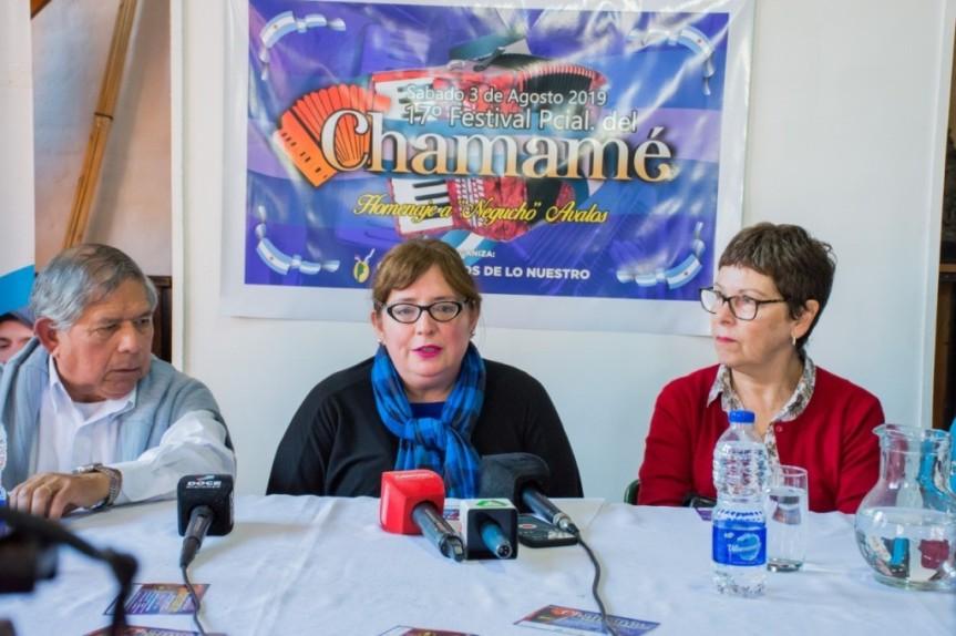 Se viene la 17° edición del Festival provincial del Chamamé el 3 de agosto enAEMO