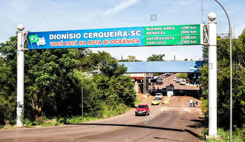 Herrera pidió reforzar la frontera ante el aumento de casos de coronavirus en SantaCatarina