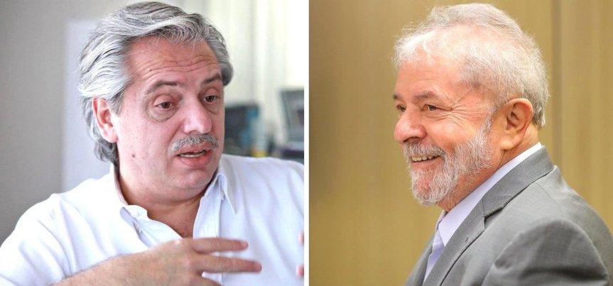 """Bolsonaro criticó a Fernández por su visita a Lula: """"Aquí confiamos en nuestras instituciones, fue condenado en tres instancias"""""""