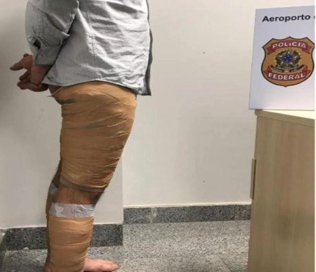 Por 5.000 euros: un argentino con cocaína adosada al cuerpo fue detenido en el aeropuerto deFoz