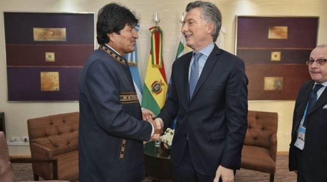 Evo Morales va por su cuarto mandato: ganó pero irá a segunda vuelta conMesa