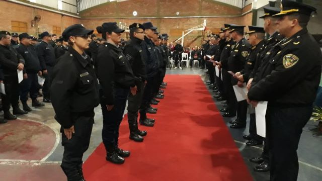 Reconocieron a 460 policías que se destacaron en distintosprocedimientos