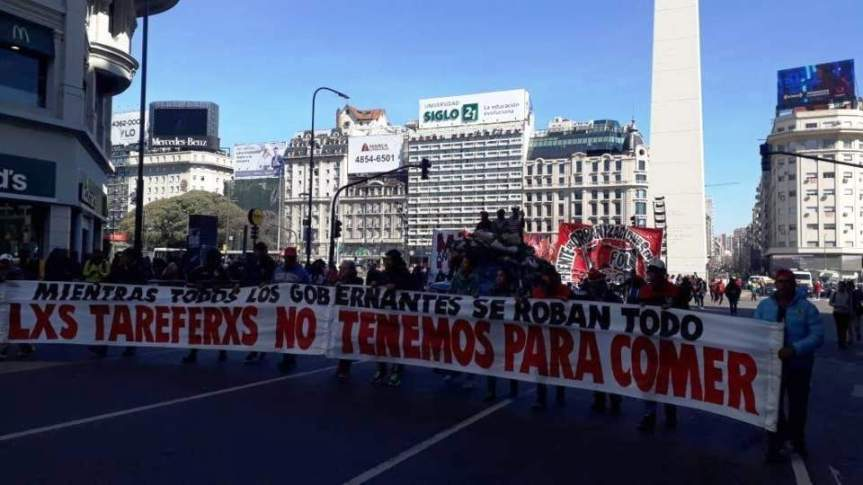 """Movimientos sociales, Pymes y sindicatos dicen que """"son insuficientes"""" los anuncios deMacri"""