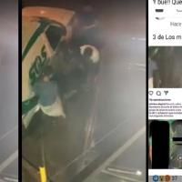 Tras la difusión del video, localizaron a la víctima y buscan a los agresores