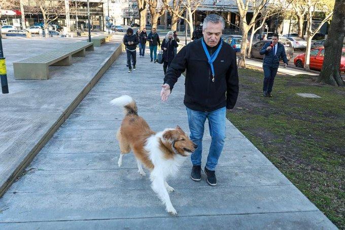 """Fernández votó en Puerto Madero: """"No tengo dudas de que la gente nos va a acompañar"""""""