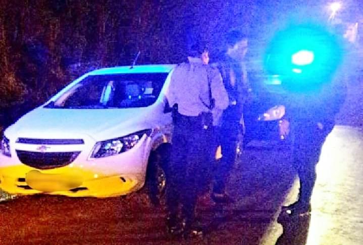 Automovilista despistó y terminó detenido por manejaralcoholizado