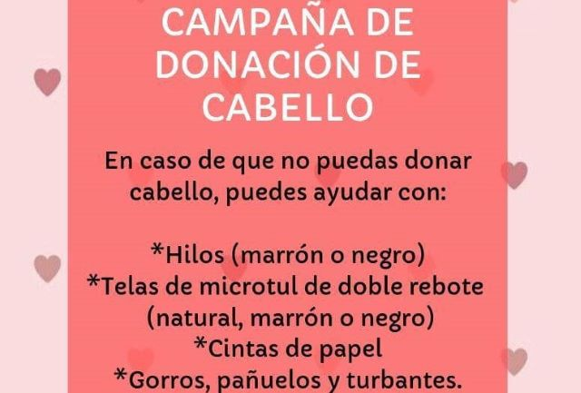 El lunes habrá campaña solidaria para donación de cabello para personas que sufren cáncer en el CentroCívico