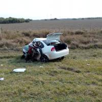 Choque frontal dejó dos muertos en la ruta 12