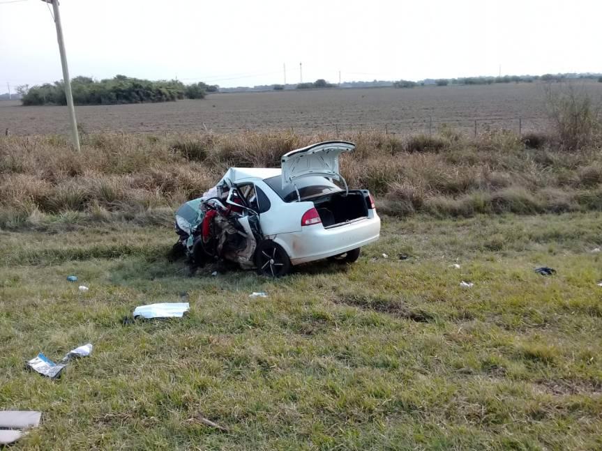 Choque frontal dejó dos muertos en la ruta12