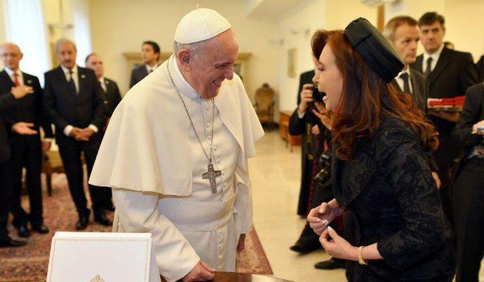 El Papa alentó la reconciliación de Alberto Fernández y CristinaKirchner