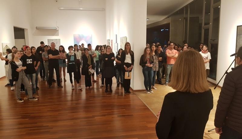 Se inauguró la muestra del XI Premio Nacional de Pintura en el museo de laFAyD