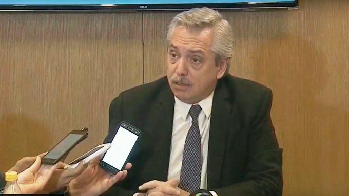 """Alberto Fernández:  """"estoy de acuerdo con el dólar a $60"""""""