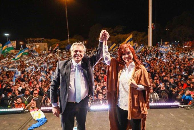"""Alberto dijo """"nunca más me voy a pelear con Cristina"""" y prometió no defraudar a losargentinos"""