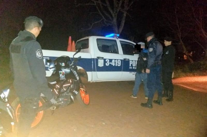 Hallaron en la maleza una garrafa robada, detuvo a un joven y buscan a tressospechosos
