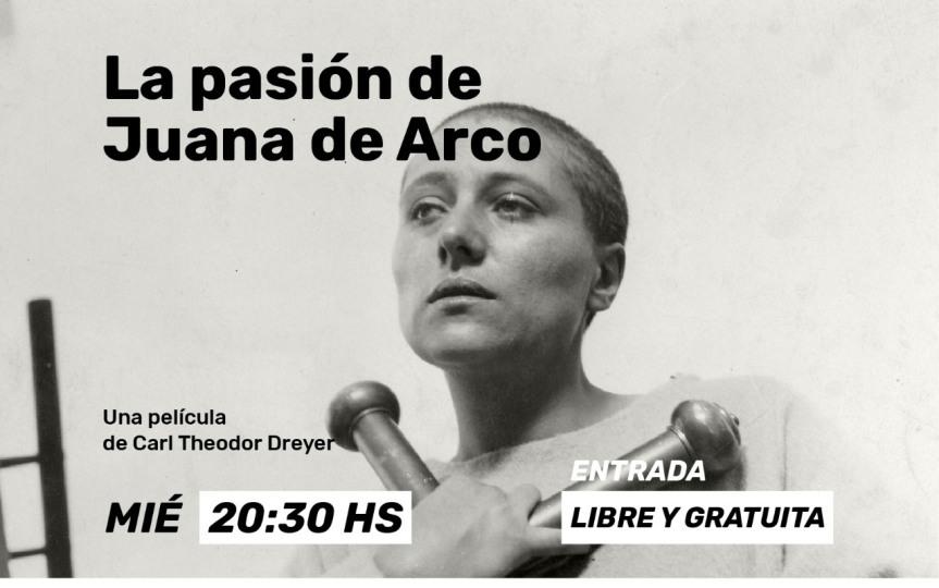 """Hoy """"La Pasión de Juana de Arco"""" gratis en el cine INCAA; """"Astrgauchos"""", """"Toy Story"""" y """"Carasucia"""" desde eljueves"""