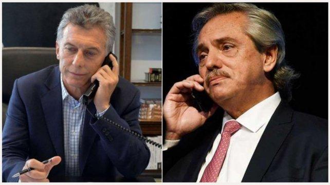 """Macri llamó a Fernández tras la designación de Lacunza: """"Contá con nosotros y yo te mando a los míos"""" fue larespuesta"""