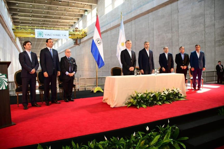 Macri y Abdo Benítez inauguraron el Paso Internacional Ituzaingó-Ayolas
