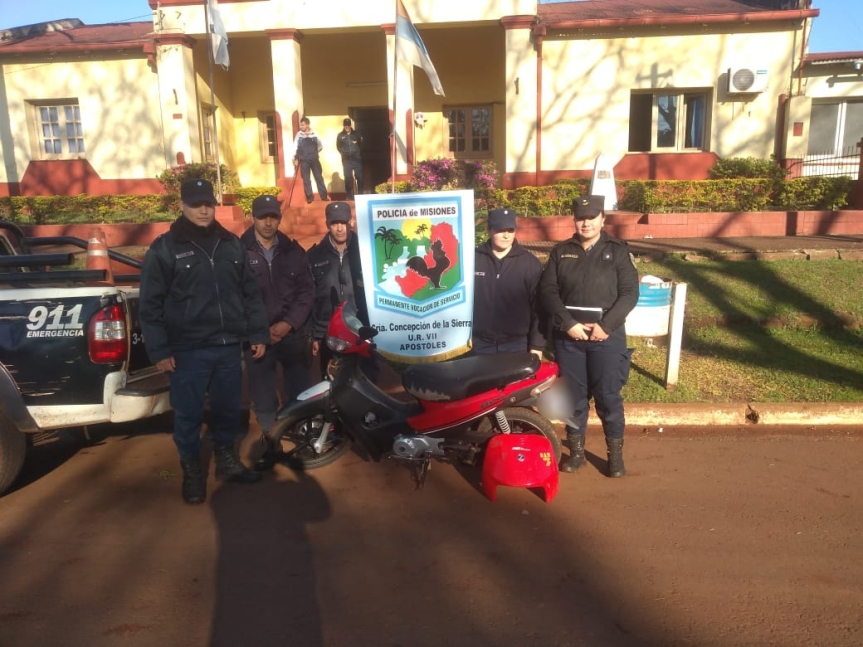 Se recuperaron 3 motos robadas en diferentes puntos de laprovincia