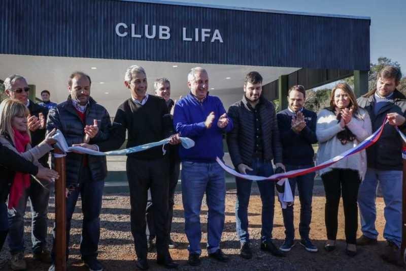 Passalacqua inauguró predio de la Liga Interprofesional de Fútbol Amateur(LIFA)