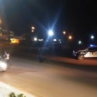 Cinco detenidos, marihuana y un arma incautada; 18 licencias, 10 motos y un auto secuestrados