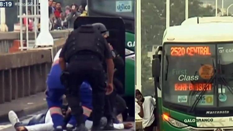 Fue abatido un secuestrador que mantenía a 31 personas como rehenes en el puenteRío-Niterói