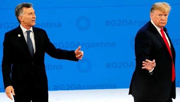 Macri le pidió a Trump que interceda con elFMI