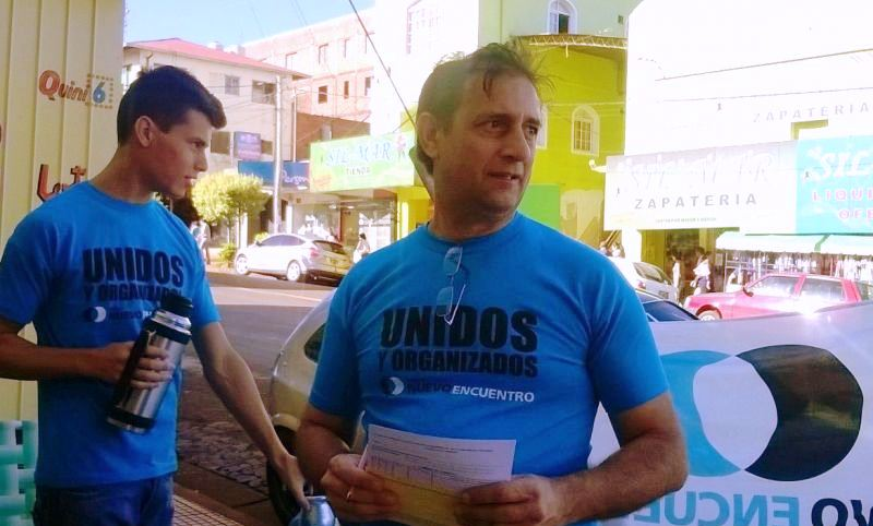 Nuevo Encuentro pide redoblar el esfuerzo para que Fernández gane en primeravuelta