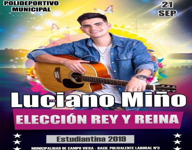 Este sábado 21 de septiembre los estudiantes de Campo Viera tendrán sufiesta