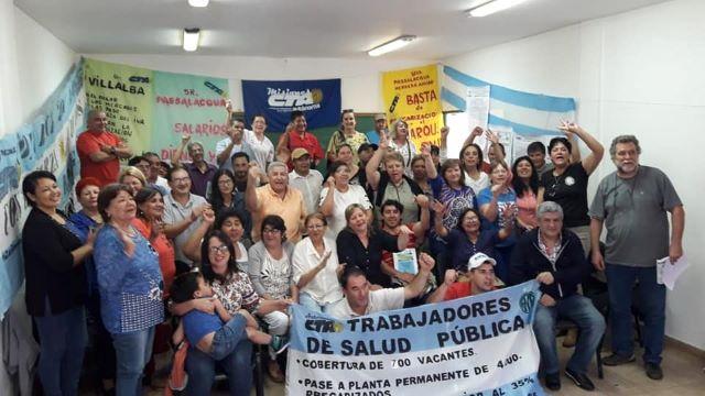 """Salud hace un nuevo paro: """"los hospitales no funcionan con esclavos sino con trabajadores estables y con salariosdignos"""""""
